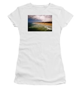 Manhattan Beach Surrealist Women's T-Shirt