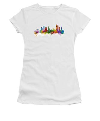 Mumbai Skyline India Bombay Women's T-Shirt