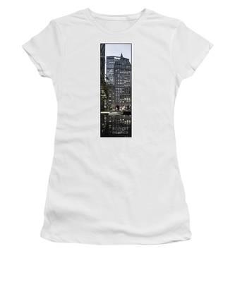 Park Avenue Met Life Nyc Women's T-Shirt by Juergen Held