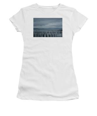 Pilings On Columbia River Women's T-Shirt
