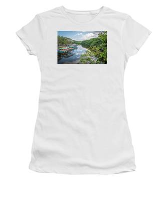 River Views In Negril, Jamaica Women's T-Shirt