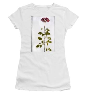 Rose Frozen Inside Ice Women's T-Shirt