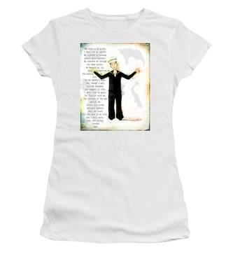 Sailor's Prayer Women's T-Shirt