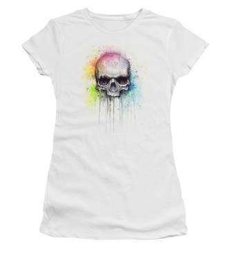 Skull Women's T-Shirts
