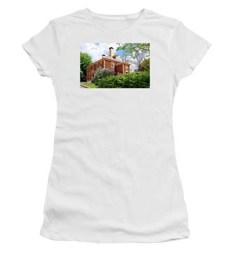 Springtime At Folsom Tavern Women's T-Shirt