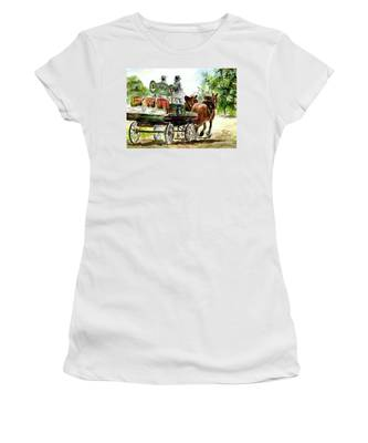 Victoria Bitter, Working Clydesdales. Women's T-Shirt
