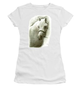White Welsh Pony Women's T-Shirt