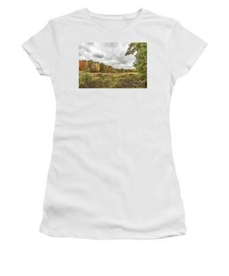 Autumn Has Been Found In Michigan Women's T-Shirt