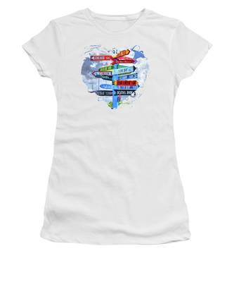Door County Women's T-Shirts