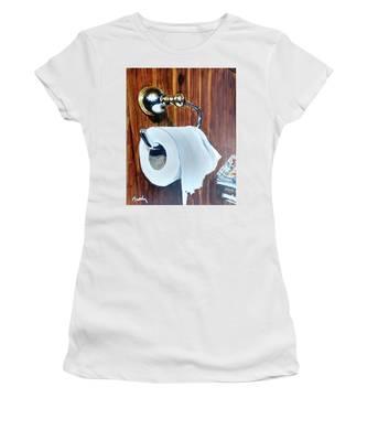 Duchamp's Paperwork Women's T-Shirt