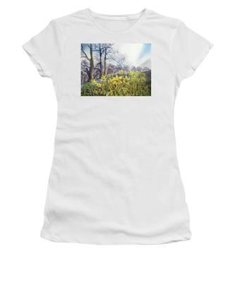 Field Of Hope At Burton Agnes Women's T-Shirt
