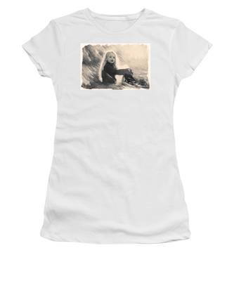 Girl In Jodpurs Women's T-Shirt