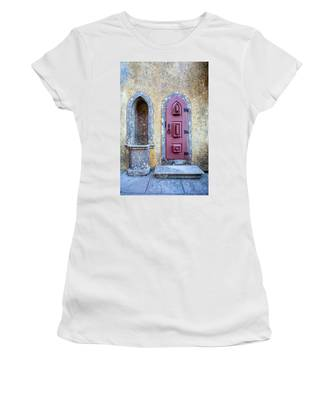 Medieval Red Door Women's T-Shirt