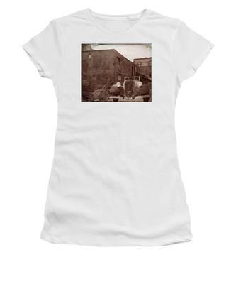 New 1936 Citroen Old Neighborhood Women's T-Shirt