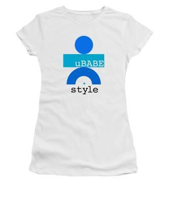 Ocean Blue Babe Women's T-Shirt