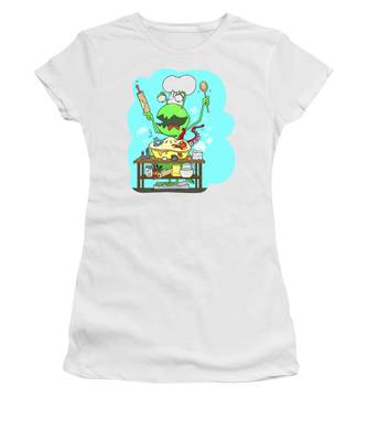 Peter And The Closet Monster, Baker Women's T-Shirt