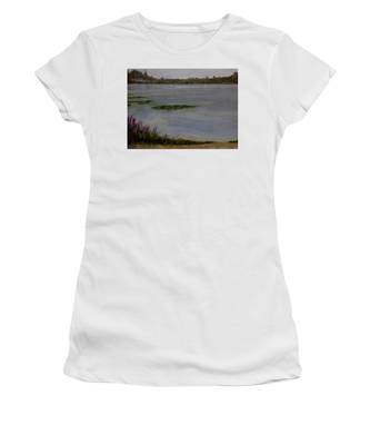Silver Lake During The Wildfires Women's T-Shirt