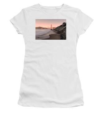 Sunrise In San Fransisco- Women's T-Shirt