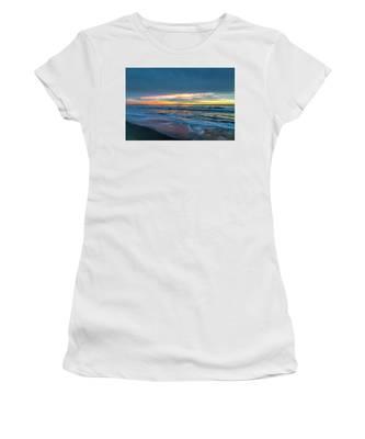 Sunset Fire Over Catalina Island 2 Women's T-Shirt