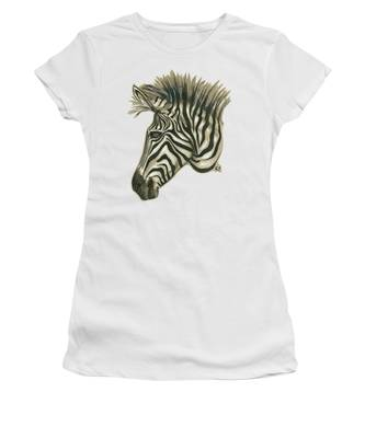 Zebra Profile Women's T-Shirt