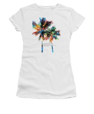 Palm Tree Women's T-Shirts