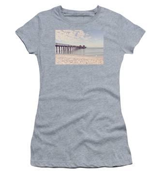 An Early Morning - Naples Pier Women's T-Shirt