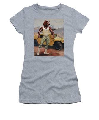 Arkansas Soldier Women's T-Shirt