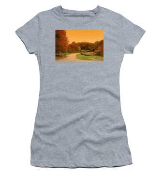 Autumn In The Park - Holmdel Park Women's T-Shirt