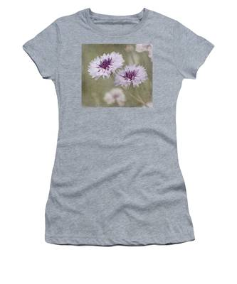 Bachelor Buttons - Flowers Women's T-Shirt