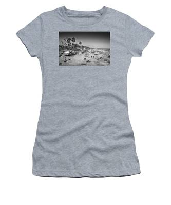 Beach Life From Yesteryear Women's T-Shirt