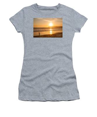 Bird And His Sunset Women's T-Shirt