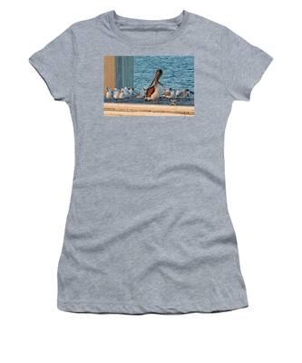 Birds - Among Friends Women's T-Shirt
