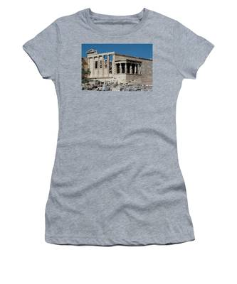 Erechtheion With The Porch Of Maidens Women's T-Shirt