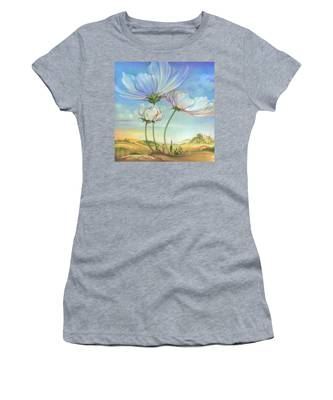 In The Half-shadow Of Wild Flowers Women's T-Shirt
