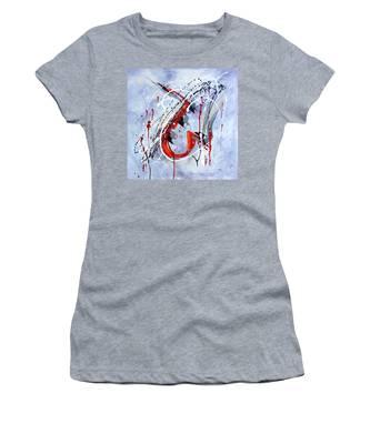 Musical Abstract 005 Women's T-Shirt