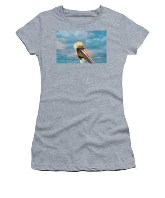 My Better Side - Florida Brown Pelican Women's T-Shirt