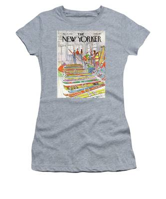New Yorker January 21st, 1980 Women's T-Shirt