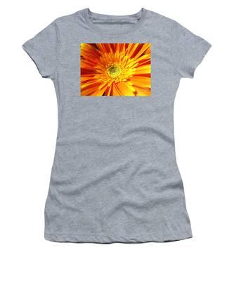 Orange Gerbera Women's T-Shirt