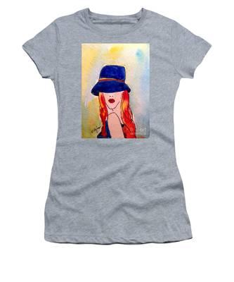 Portrait Of A Woman Women's T-Shirt