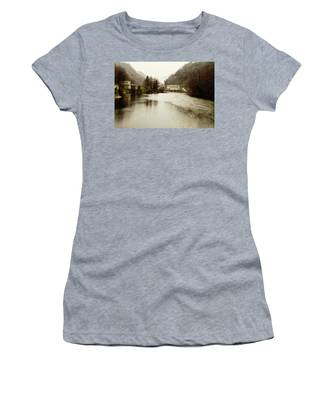 Power Plant On River Women's T-Shirt