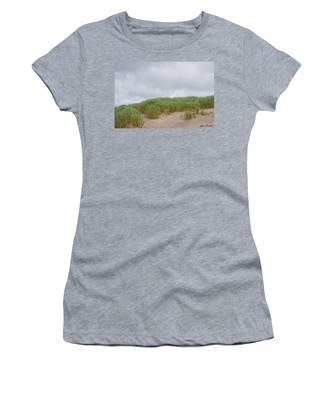 Sand Dunes And Grass Women's T-Shirt