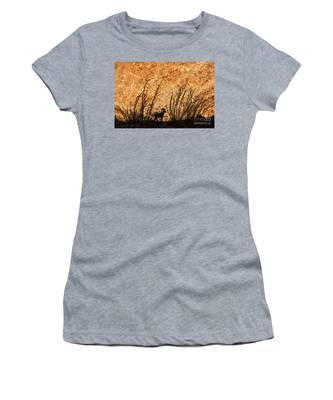 Silhouette Bighorn Sheep Women's T-Shirt