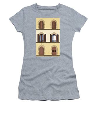 Six Windows Of Florence Women's T-Shirt