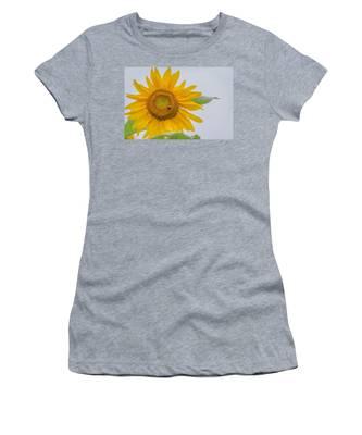 Sunflower And Bee Women's T-Shirt