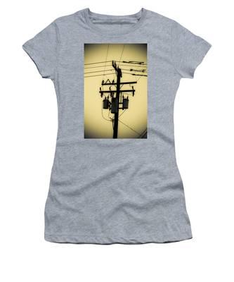 Telephone Pole 3 Women's T-Shirt