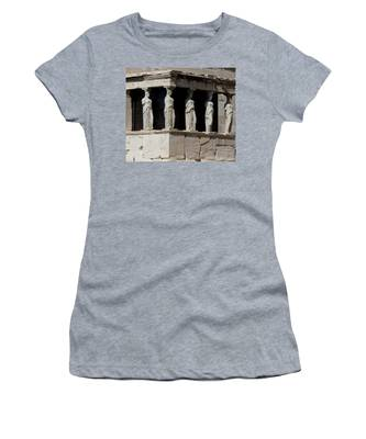 The Porch Of Maidens Women's T-Shirt