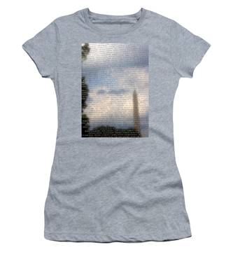 Women's T-Shirt featuring the photograph The Wall by Jemmy Archer