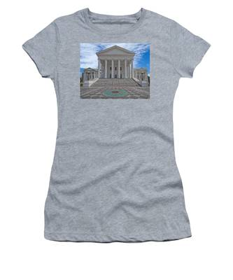 Women's T-Shirt featuring the photograph Virginia Capitol by Jemmy Archer