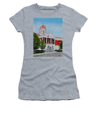 White County Courthouse - Veteran's Memorial Women's T-Shirt