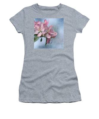 Spring Blossoms For The Cure Women's T-Shirt
